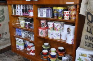 Winkel van Lunchroom de koffiebranderij